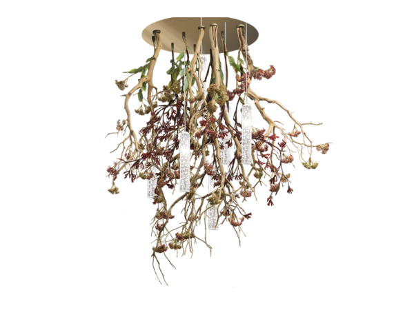 floral luxury chandelier